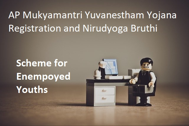 AP Mukyamantri Yuvanestham Registration and Nirudyoga Bruthi