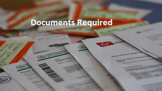 Documents Required for Mukhyamantri Yuvanestham