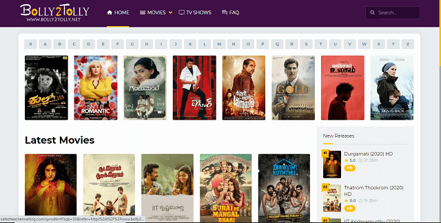 Bolly2tolly Watch Latest Movies Online Website and Its Alternatives