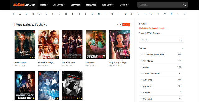Ktm movie Free Movie Download HD Illegal Website Homepage