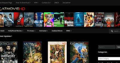 Katmovie Website Homepage